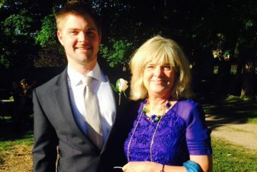 The author and her son (provided by Jan Caster)