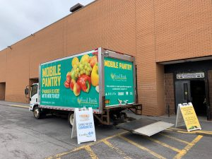 Food Bank of Central New York's Mobile Food Pantry