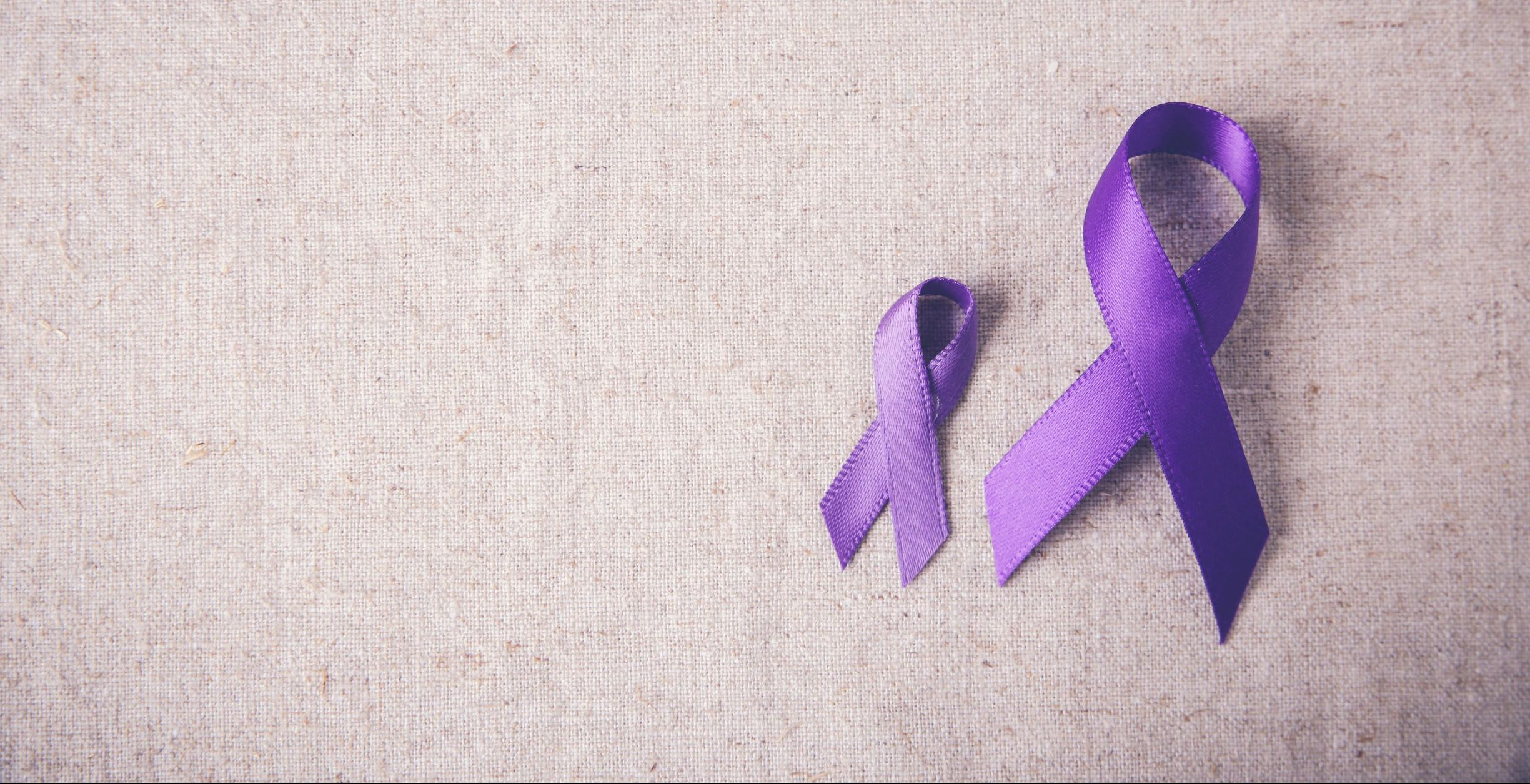 Alzheimers disease purple ribbon