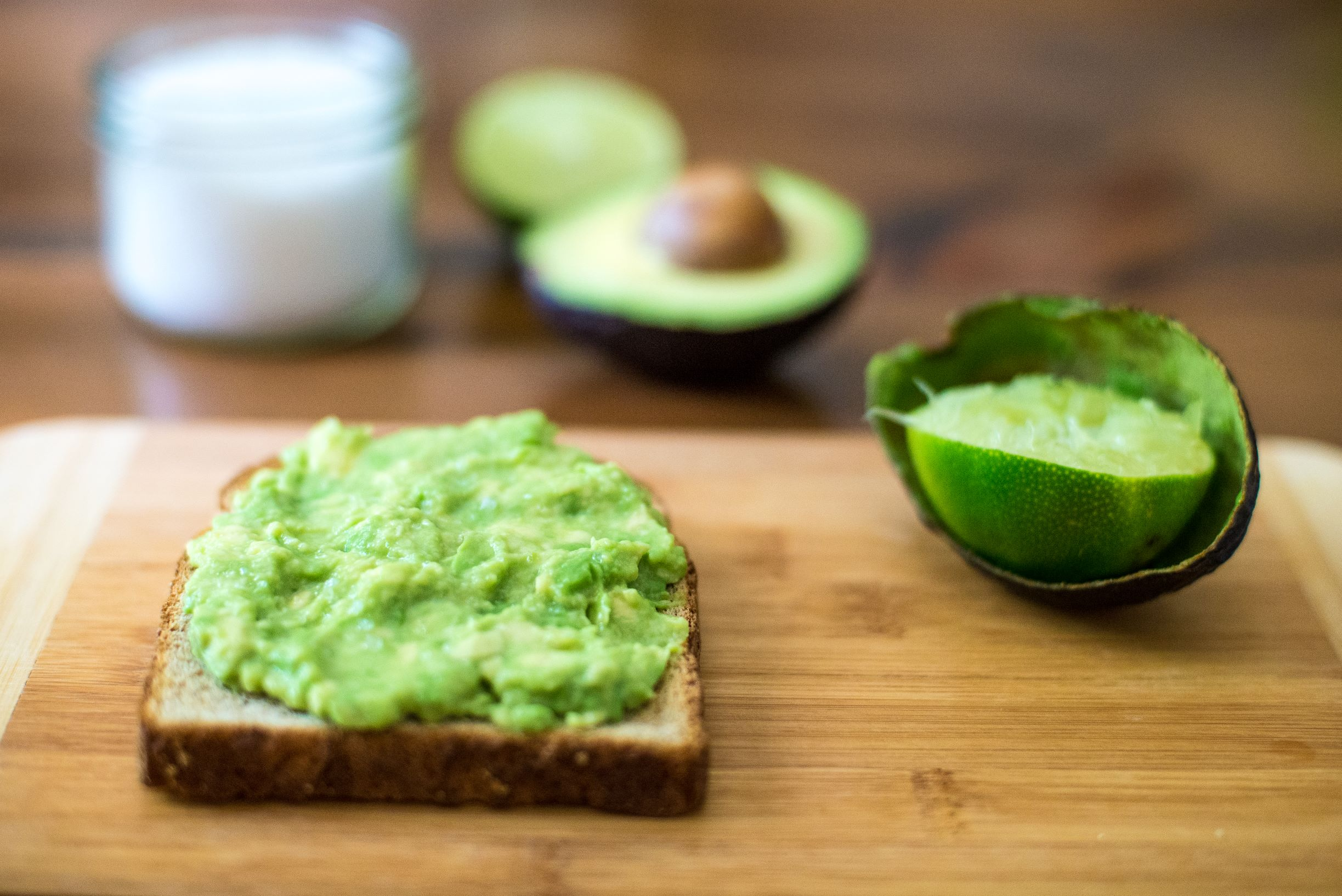 Picture of avocado toast